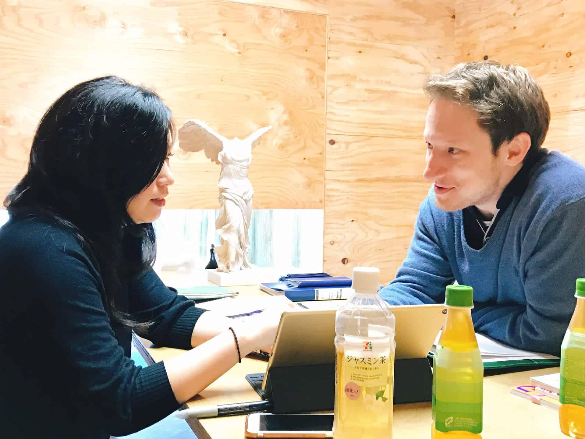 ビヨンドビジネス英会話 海外で事業をスムーズに行えるように練習しています
