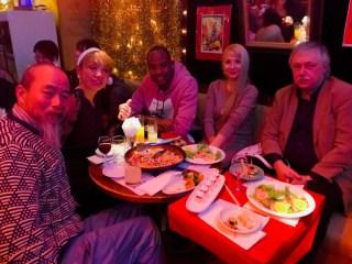 ビヨンドクリスマスパーティーロシア人ジャマイカ人と日本人優しい友達