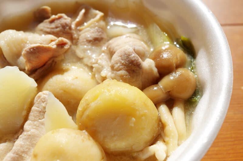 ビヨンド芋煮会イベント広瀬川美味しいスープ
